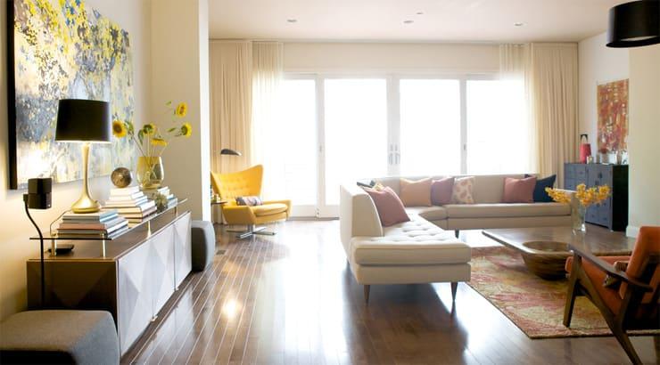 Anishka Clarke living room design