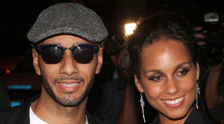 Alicia Keys and husband Swizz Beatz