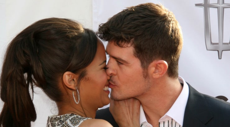 Robin Thicke and Paula Patton are a famous BWWM couple
