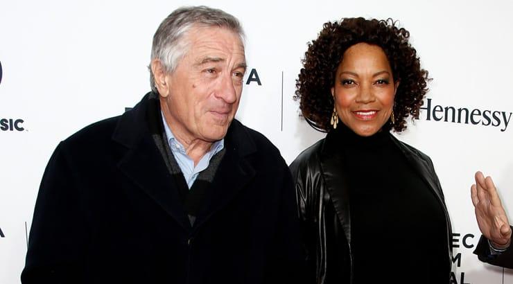 Famous BWWM couple Grace Hightower and Robert De Niro