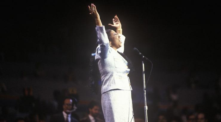 Aretha Franklin, ledgend soul singer