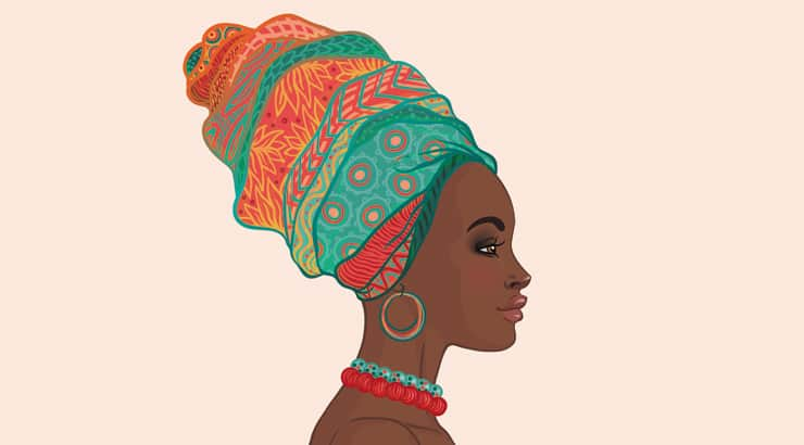 African Head Wraps For Women With Short Hair