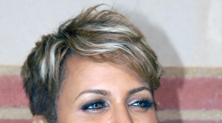 Nicole Ari Parker short hair afro american