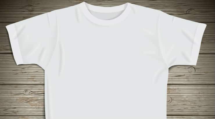 A white tshirt