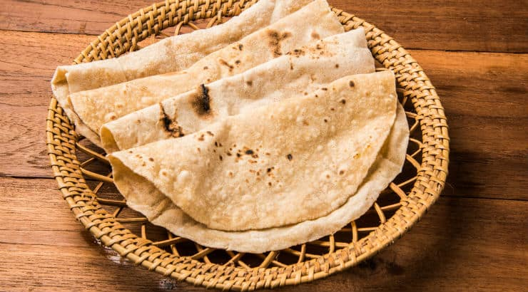 Roti from Trinidad And Tobago