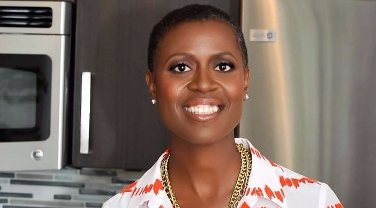 Tracye McQuirter, African American woman chef and author of By Any Greens Necessary