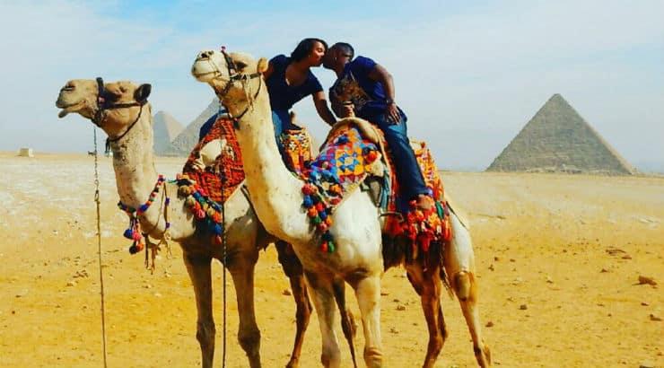 African American woman traveler Sheba