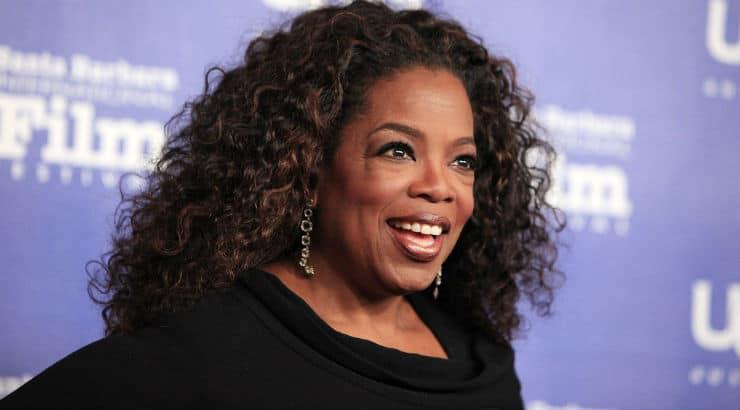 Oprah Winfrey, an African American woman in The Butler Movie