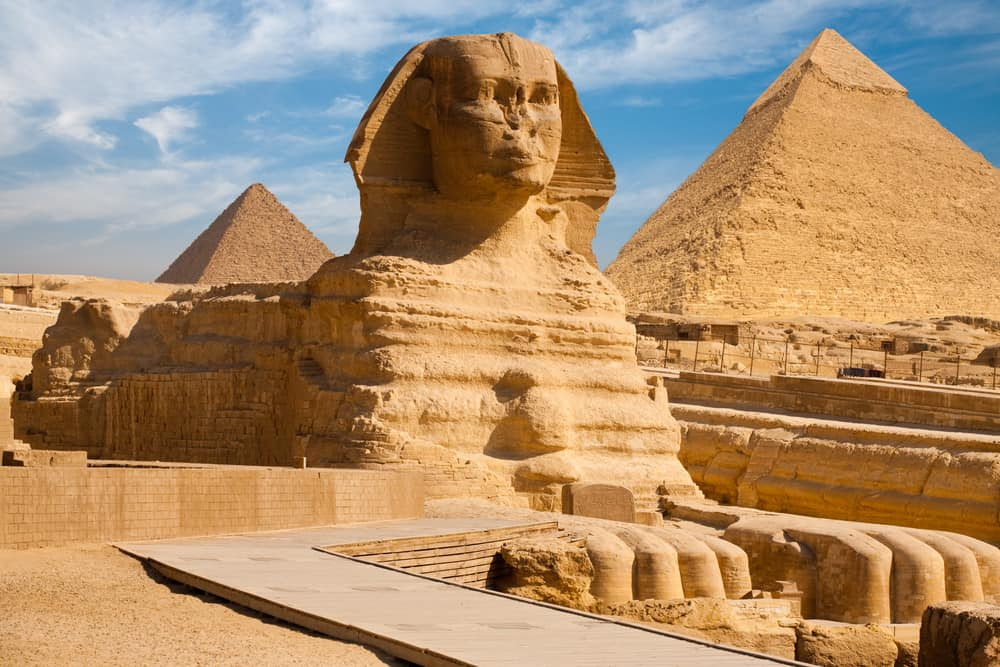 Pyramids of Egypt are one of the many wonders of the world
