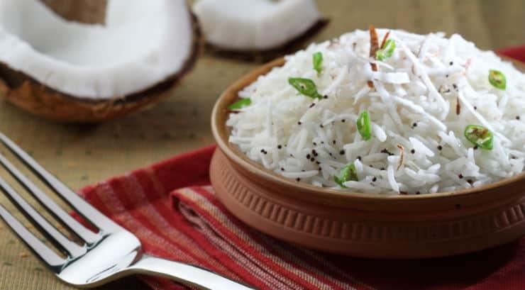 Wali wa nazi (Coconut rice)