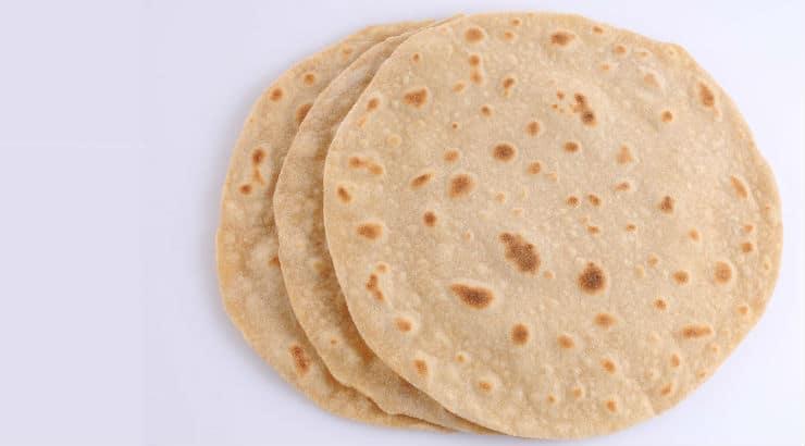 Chapati (Tanzanian flat bread)