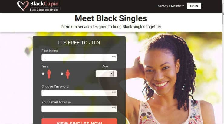 Login for free black dating BLK