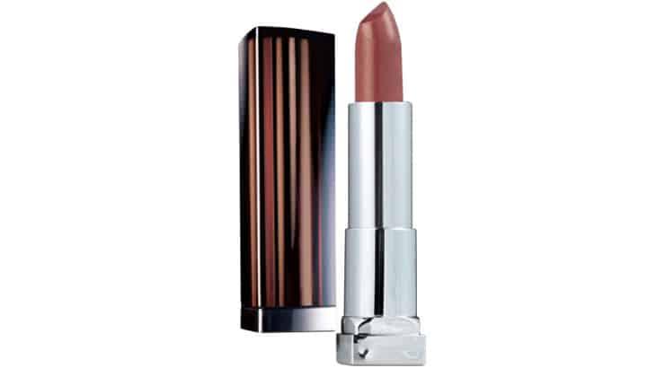 Bronze lipstick looks good on African American females