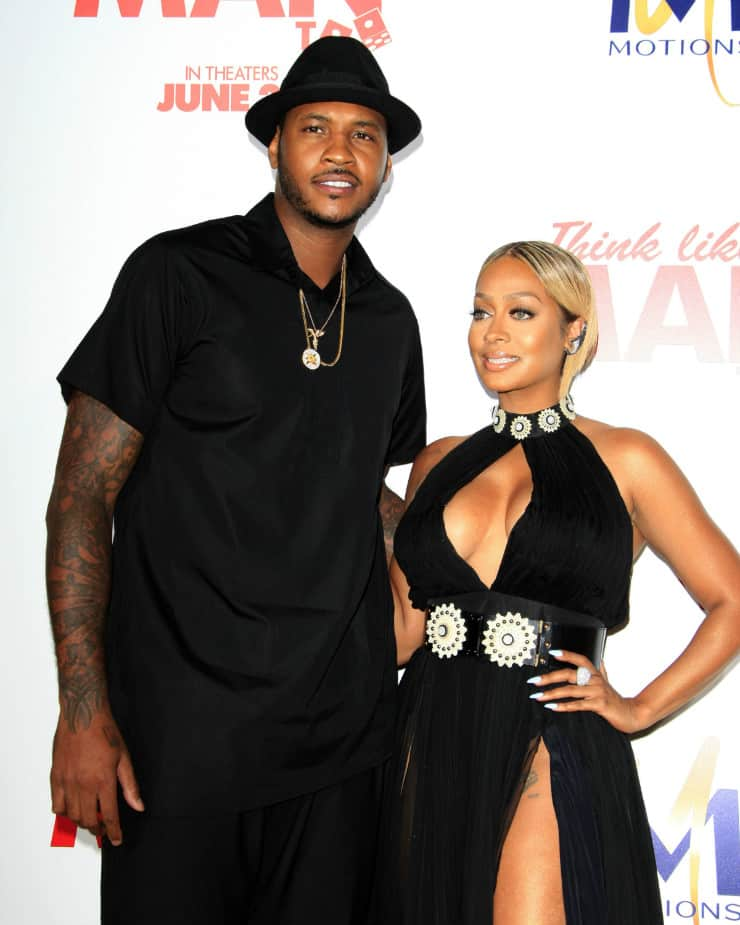 Hottest Celebrity Couples Of 2016 Lala And Carmello Anthony