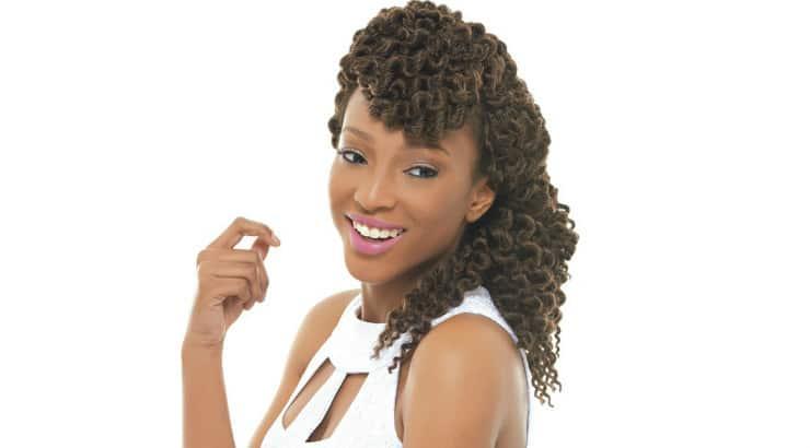 A black woman rocking mambo twist
