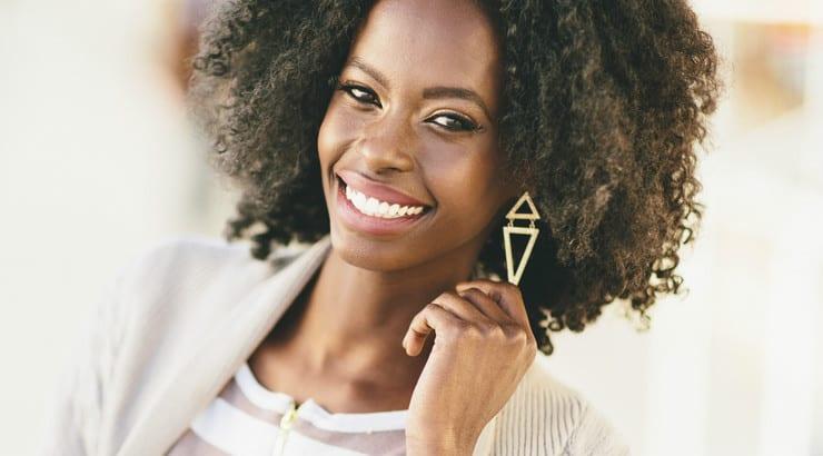 Crochet braids natural afro