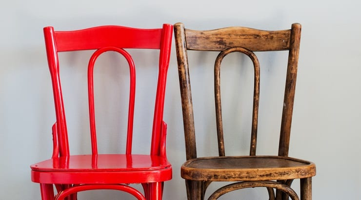 Give Your Old Wooden Furniture A New Look By Repainting