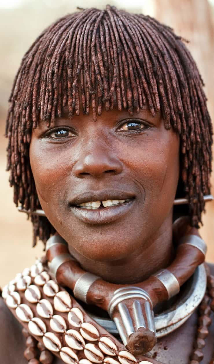 Omo Valley Hairstyle Ethiopia Africa