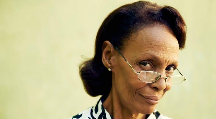 An elderly black mother in law