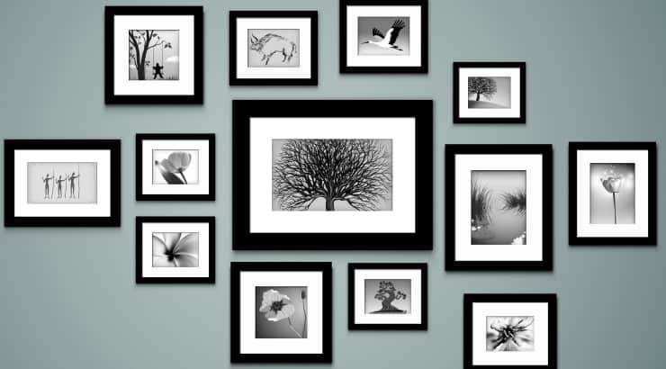 Create a Photo Gallery To Decorate An African American Home