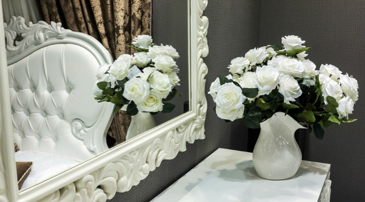 Double Your Space with a Mirror