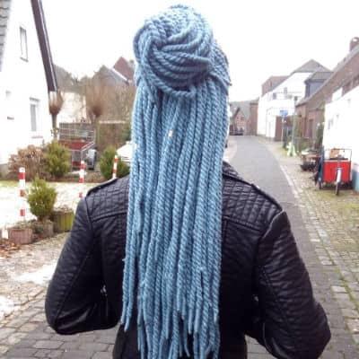 Yarn Twist Gray Style