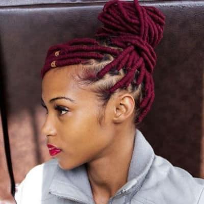 Genie Loc Hairstyle
