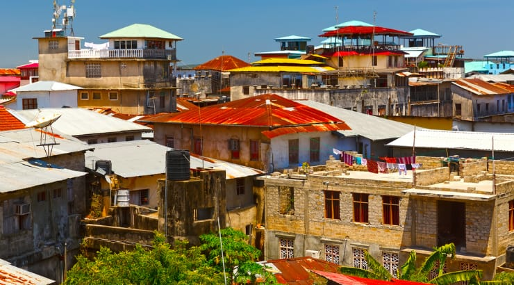 Stone Town, a tourism spot in Africa