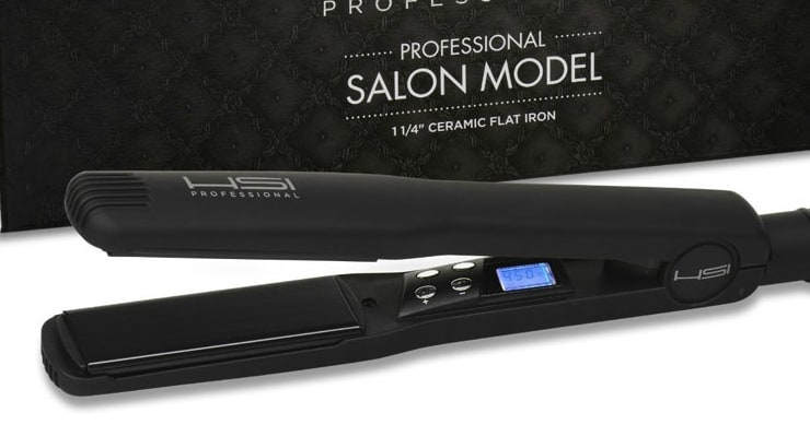 HSI Professional, the best flat iron for natural hair