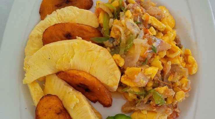 Jamaica Inn Extra Spicy Ackee and Saltfish