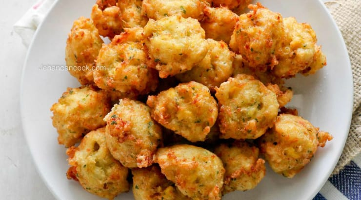 How to cook Ackee and Saltfish Fritters step by step instructions