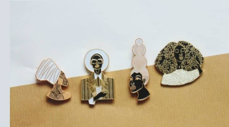 Black History Month Pins Perfect Gift