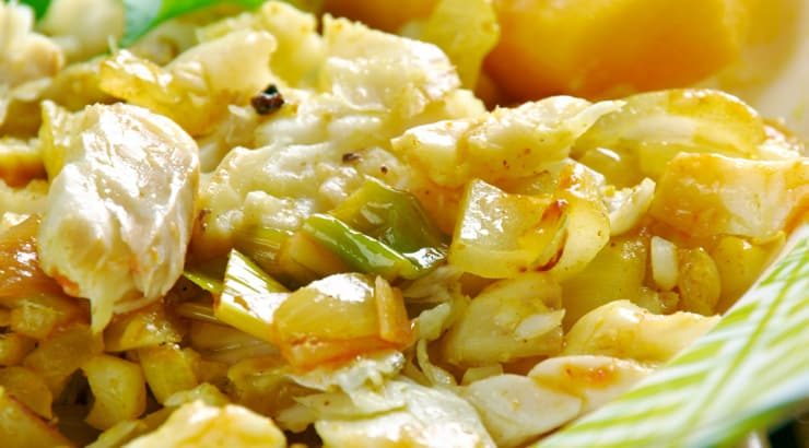 A Traditional Ackee and Saltfish recipe