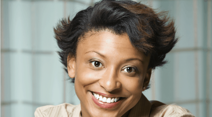 Stylish haircut for afro relaxed hair