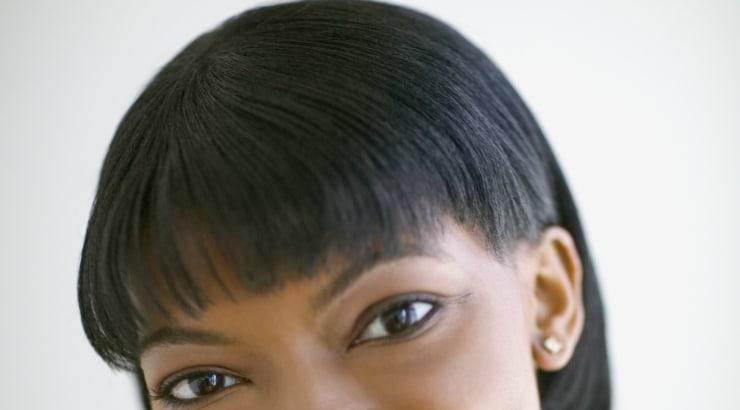 Bangs hairstyle for black women