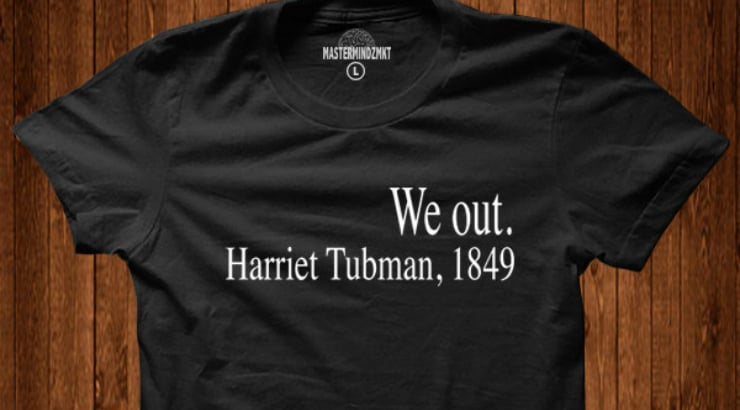 T-Shirt as a present for your African American man