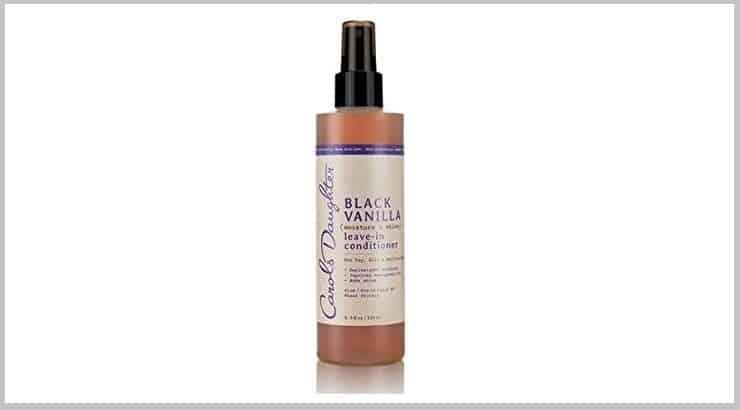 Carols Daughter Black Vanilla, A Top Leave In Conditioner Spray