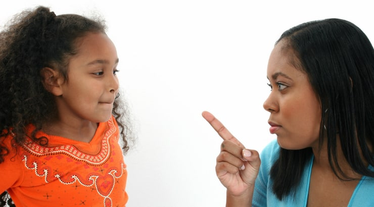 Discipline in different parents
