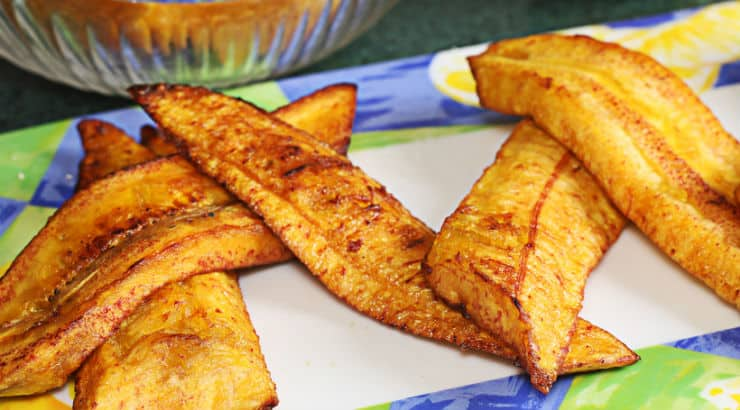 How To Cook Plantains, Jamaican Style, Sweet Chips And Healthy Recipes Included