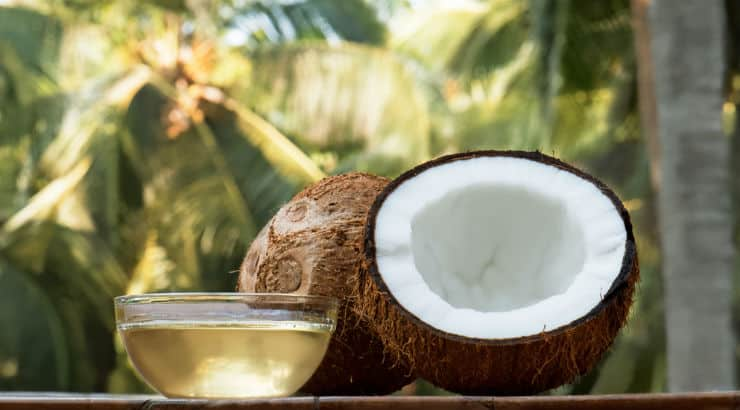 Coconut Oil Is A Common Ingredient In Hair Masks