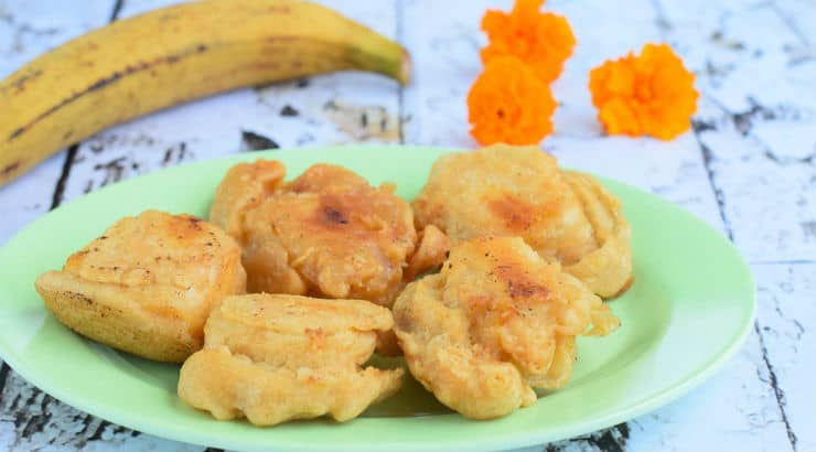 Make Plantain Fritters or Tostones