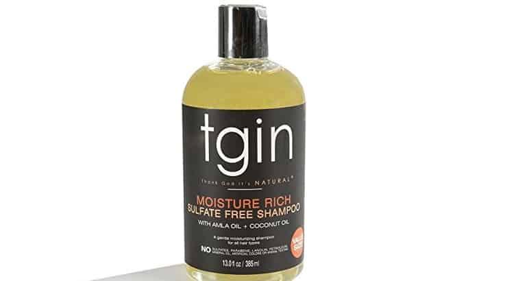 TGIN Moisture Rich Sulphate Free Shampoo