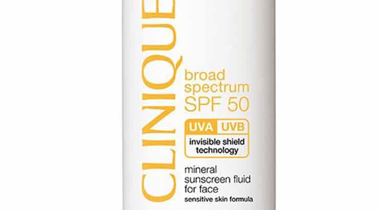 Best Sun Creams For Black Skin, Clinique Mineral Fluid Sunscreen