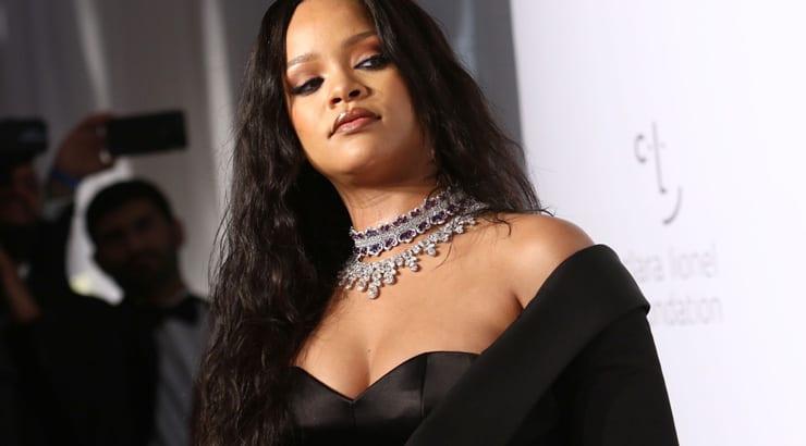 Rihanna at Red Carpet Event Light Skin
