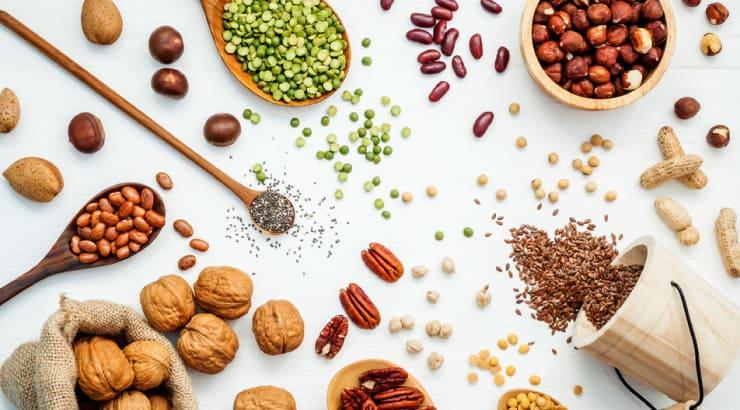 Eat Plenty Grains and Legumes on a Vegan Diet