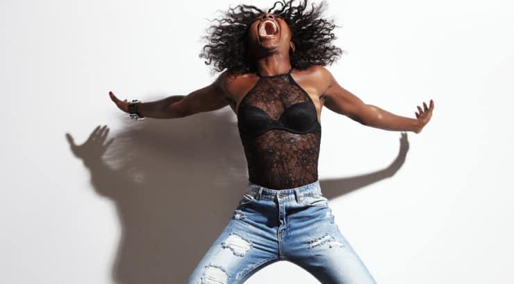 Black Woman Living the Vegan Life