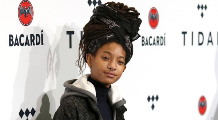 Teenage African American Actresses Willow Smith Embraces Uniqueness and Her Own Personal Style