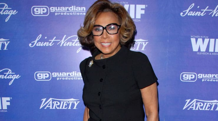 Diahann Carroll is the First Black Woman to Lead in a TV series