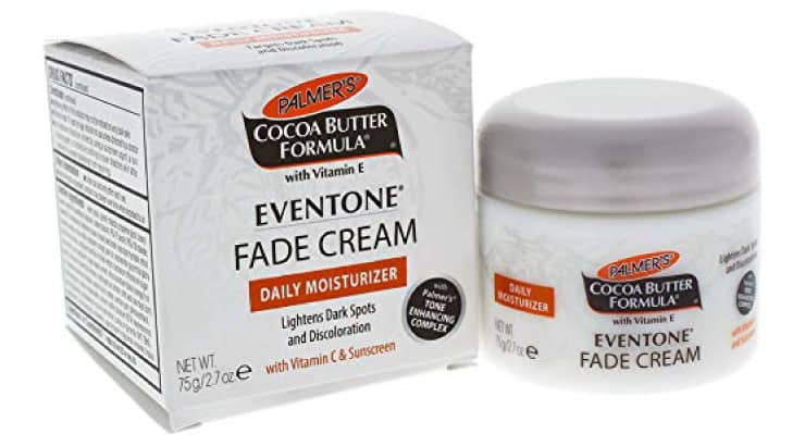 Palmer's Cocoa Butter Formula Eventone Fade Cream Daily Moisturizer for Dark Spots and Discoloration