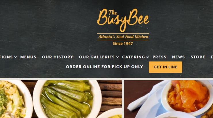 The Busy Bee Café Soul Food Restaurant